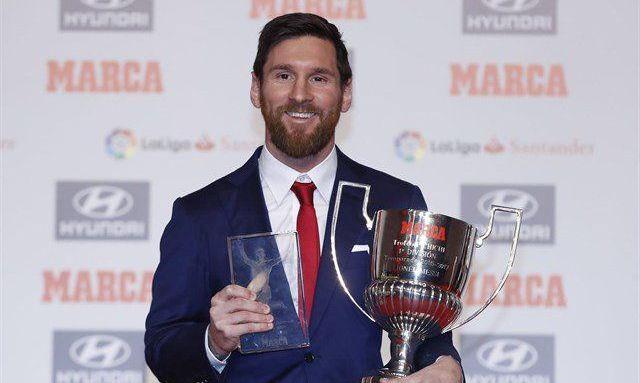 Месси получил трофей «Пичичи»