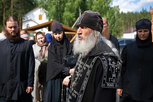 Отца Сергия доставили в Москву