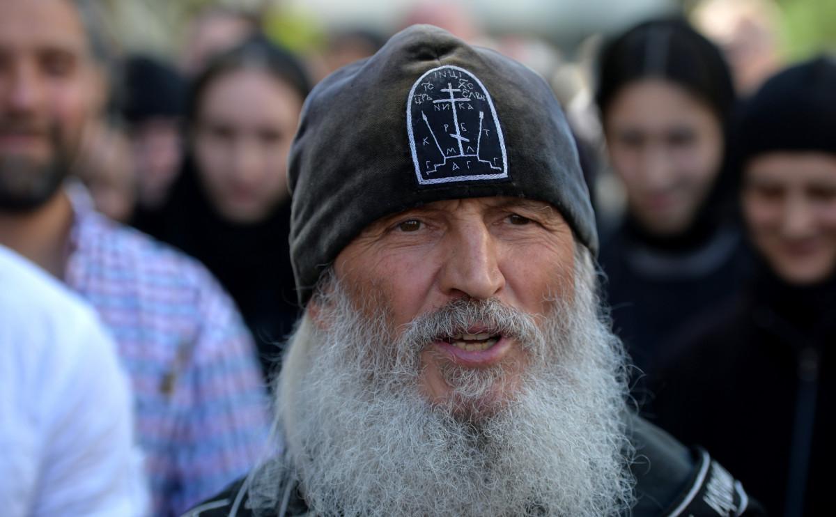Арестованный схимонах Сергий отказывается от воды и еды