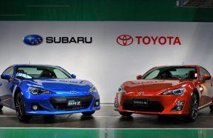 Повышение цен на Subaru и Toyota в России