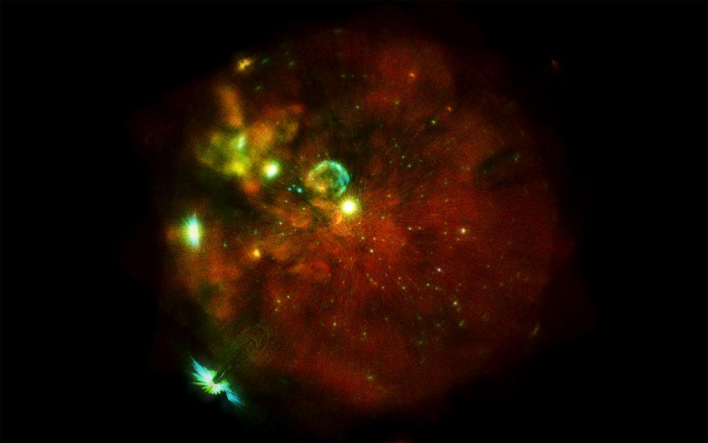 Разгадана тайна огромной космической системы, расположенной недалеко от планеты Земля