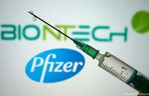 Сильная аллергия, как реакция на вакцину от коронавируса Pfizer