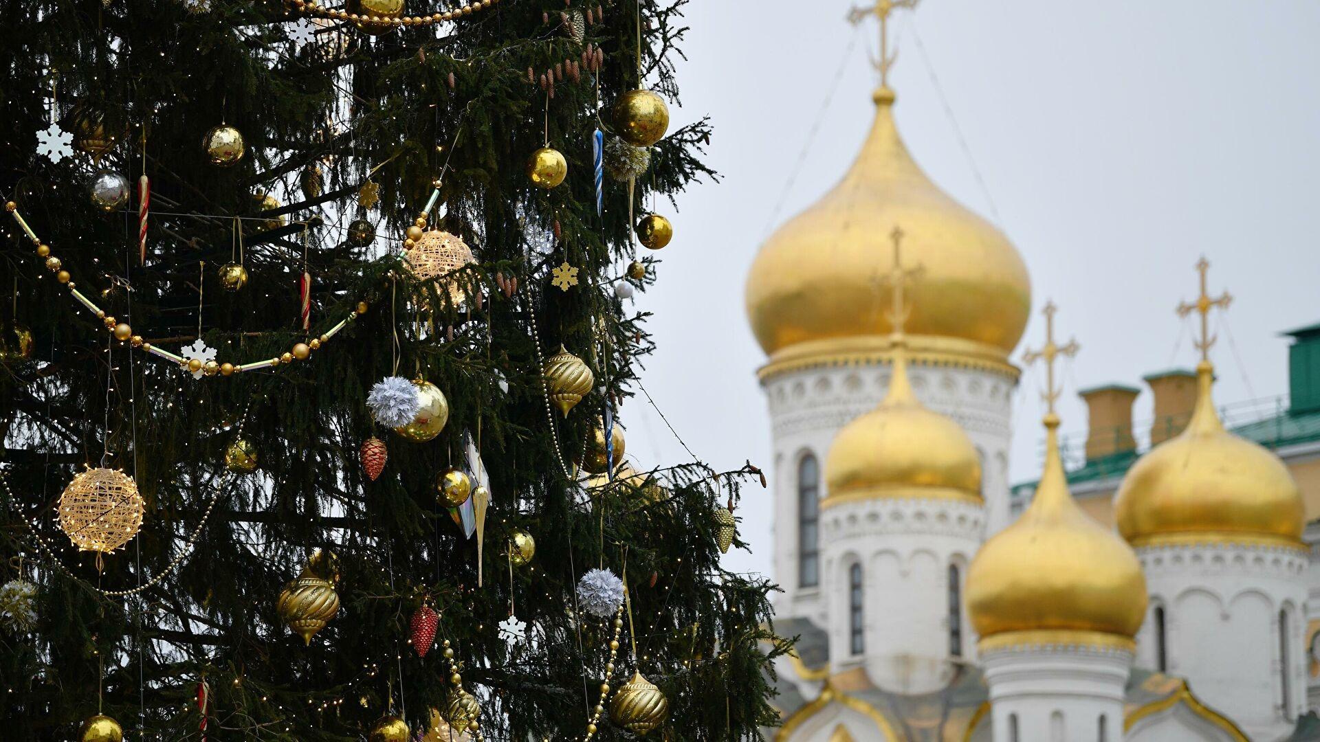 Главная елка страны уже готова к Новому году