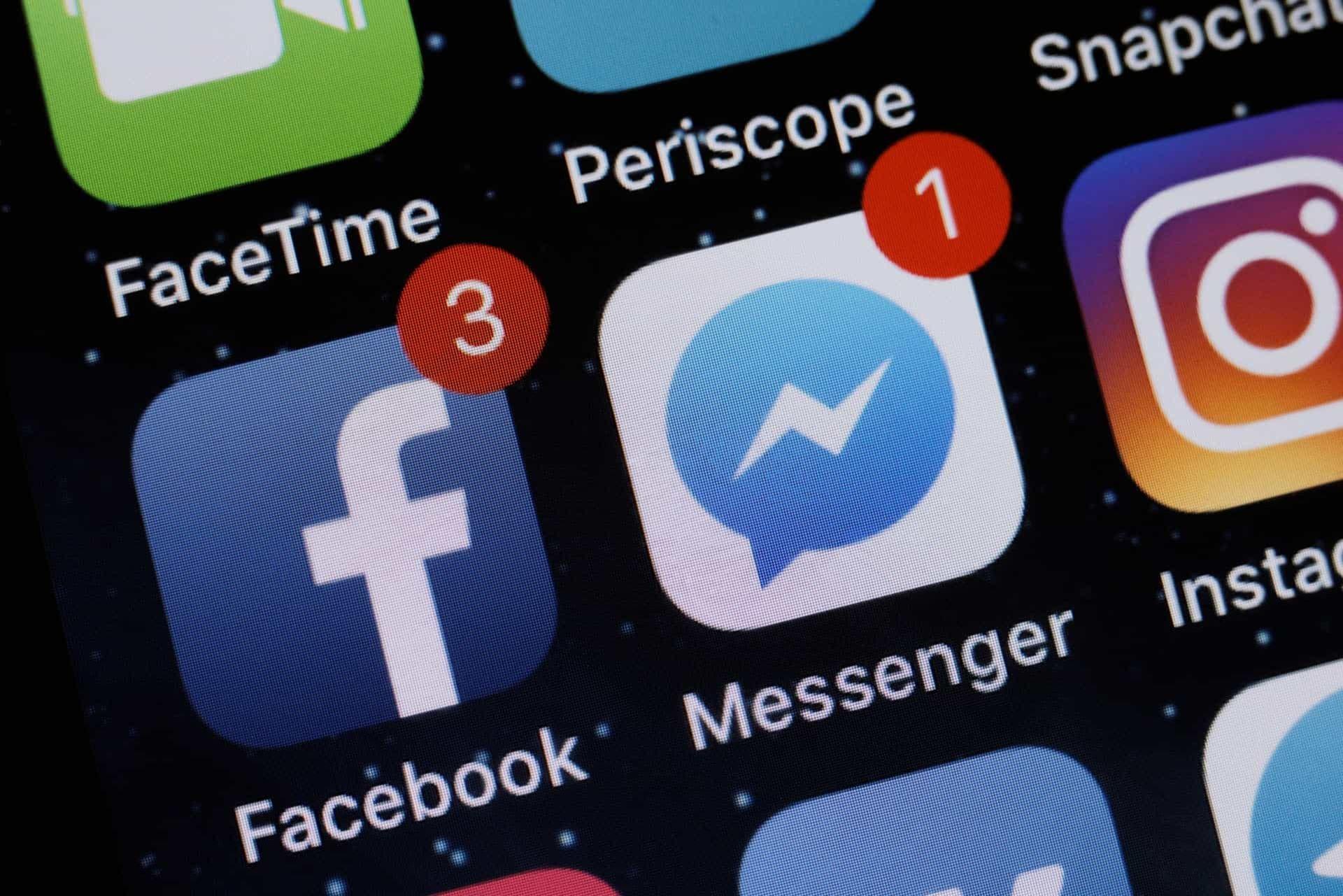Пользователи Facebook Messenger ощутили технические сбои