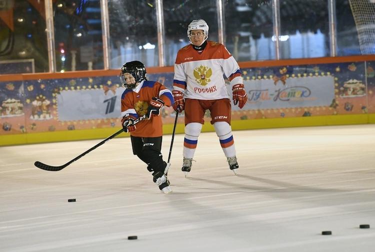 Каменский с Путиным исполнили мечту 9-летнего мальчишки