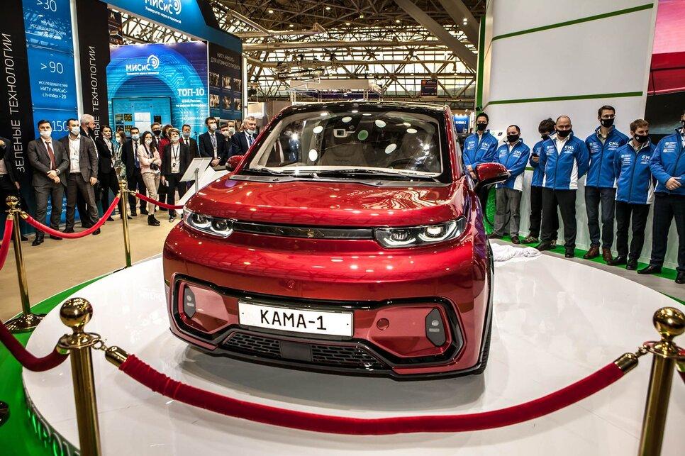 Электромобиль от «КамаЗа» лучше, чем Tesla