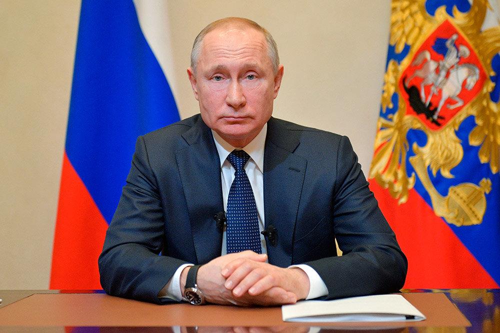 Президент России рассказал о элементах самореализации