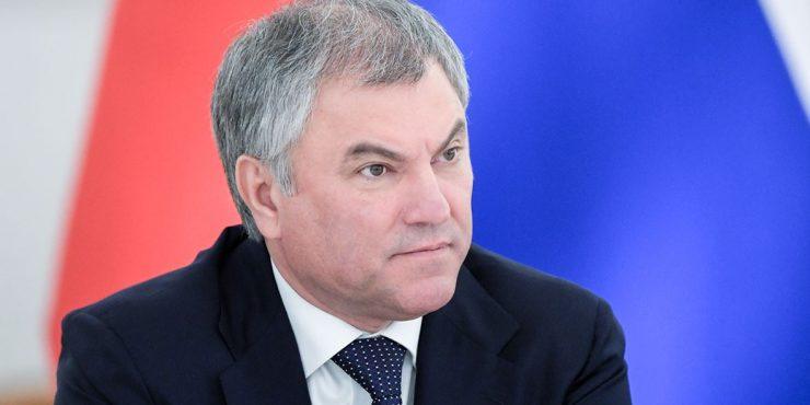 Володин предложил собирать данные о втором гражданстве коллег