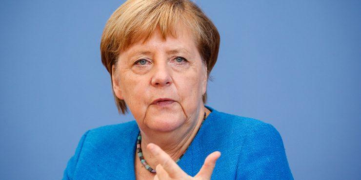 Ангела Меркель назвала санкции США против «Северного потока-2» неуместными