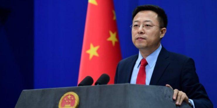 МИД Китая осудило вмешательство Америки во внутренние дела России