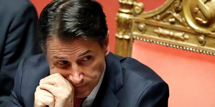 Премьер-министр Италии планирует написать заявление об отставке