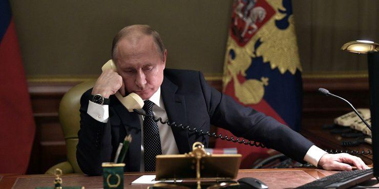 Состоялся телефонный разговор Путина с Байденом
