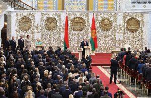 Лукашенко объяснил почему была проведена тайная инаугурация