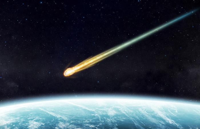 Метеорит пронесся в небе над Камчаткой