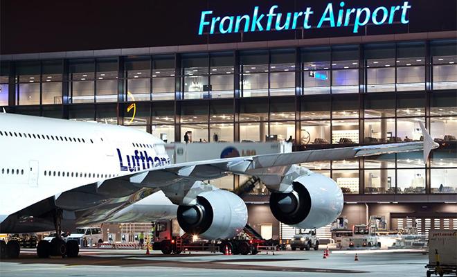 Полиция Франкфурта была поднята по тревоге из-за забытого в аэропорту чемодана