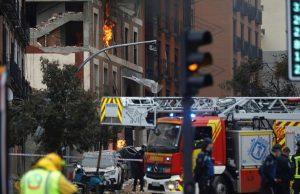 В Мадриде произошел взрыв при проверке газового оборудования. Есть жертвы