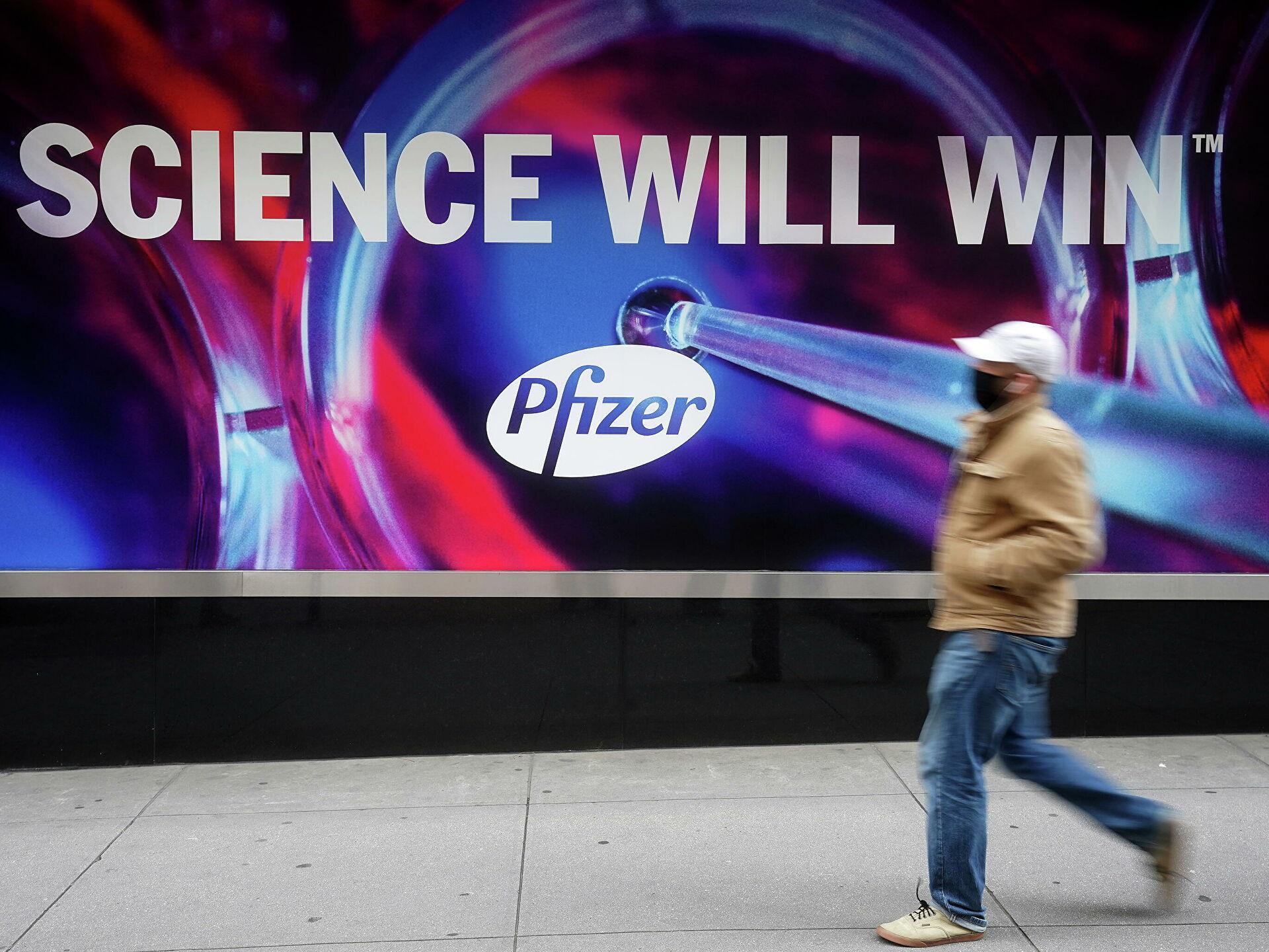 Два добровольца скончались после прививки Pfizer