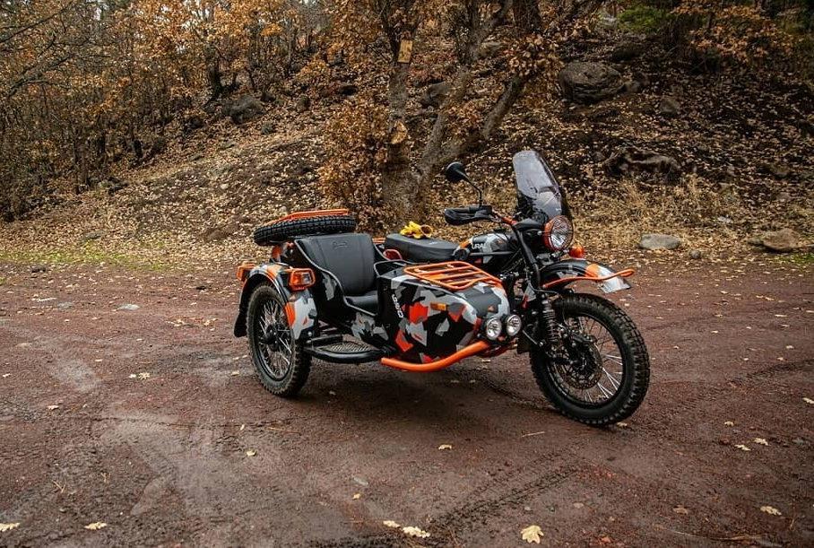 Выпущена новая спецверсия мотоцикла «Урал»