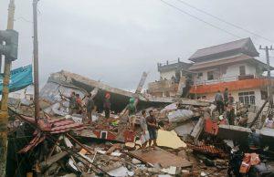В результате землетрясений в Индонезии пострадало несколько сотен человек