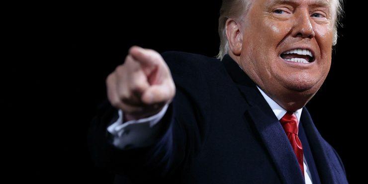 Дональд Трамп собирается победить сразу в восьми штатах