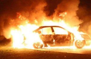 В новогоднюю ночь во Франции по «традиции» сожгли несколько автомобилей