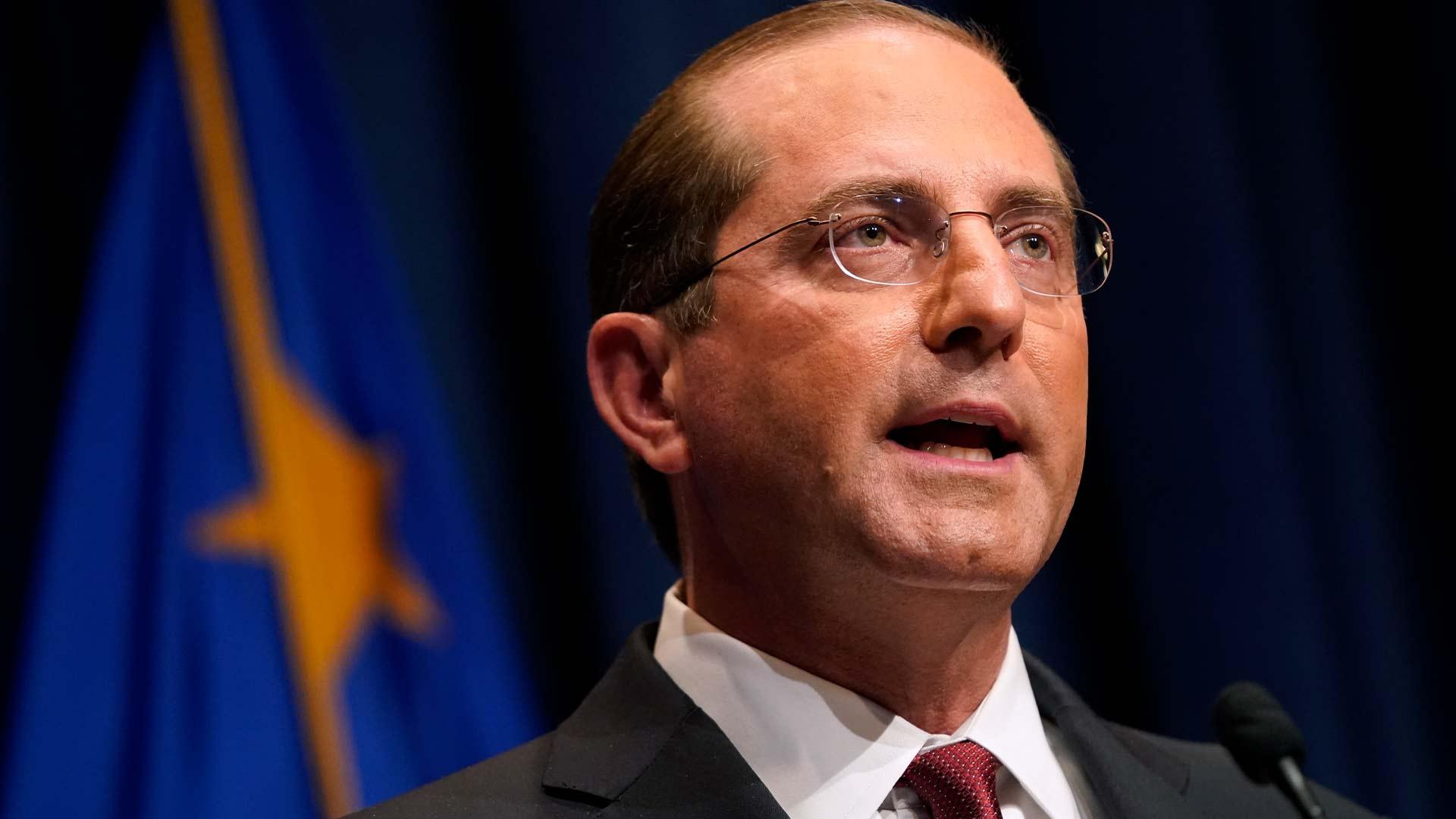 Министр здравоохранения Америки подал в отставку