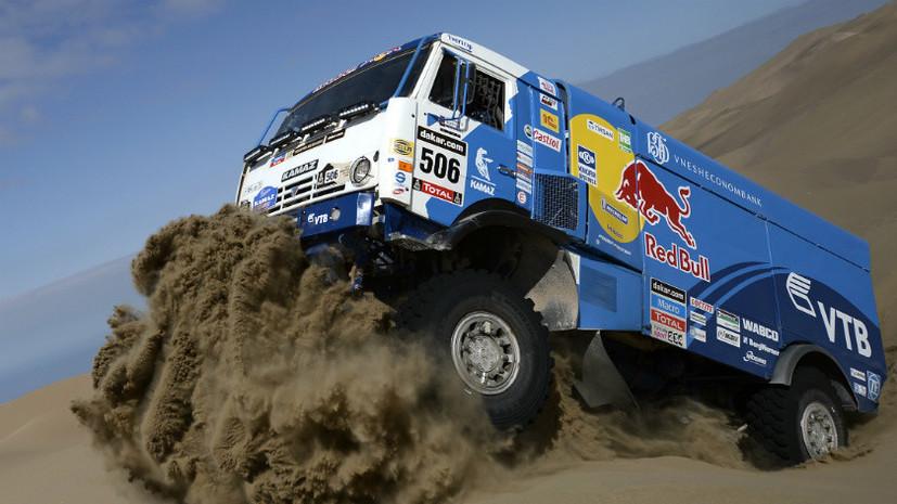 На втором этапе соревнований «Дакар» российский экипаж стал победителем