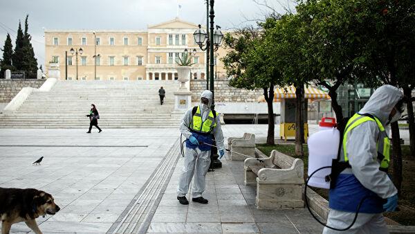 «Британский» коронавирус в Греции