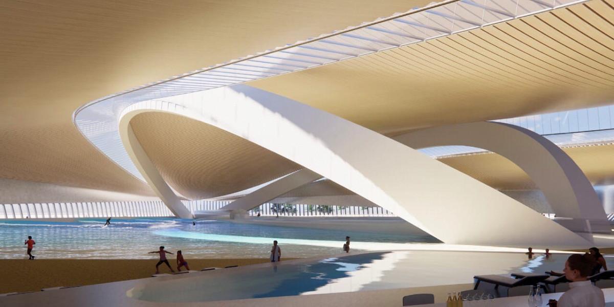 В столице построят бассейн размером в 5 футбольных полей