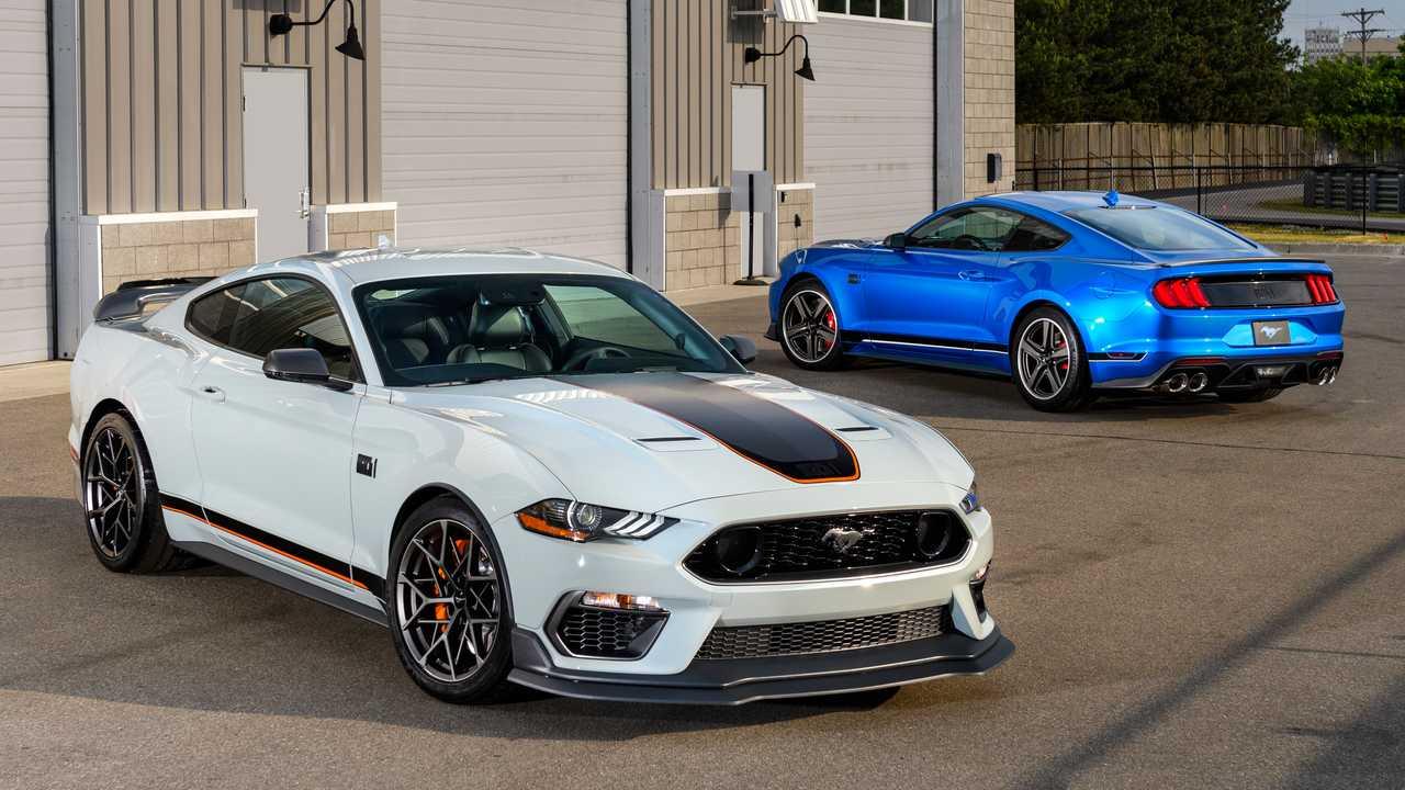 Новые «орнитологические» колеса Ford Mustang