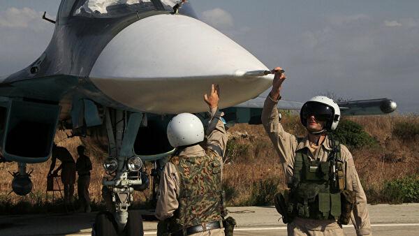 Российские ПВО отбили атаку на авиабазу в Сирии