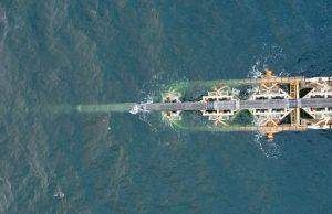"""Трубоукладчик """"Северного потока-2"""" начал свою работу в территориальных водах Дании"""