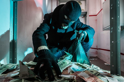 Ограбление в центре Москвы
