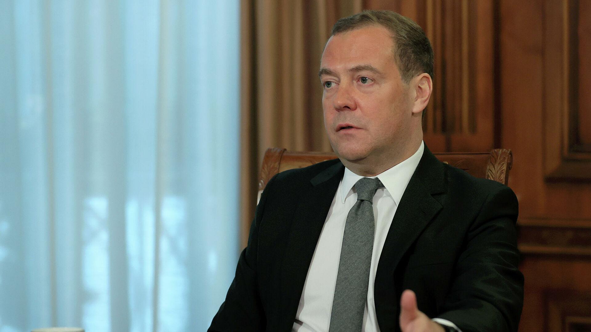 """Медведев проанализировал возможность воссоздания """"Большой Восьмерки"""""""