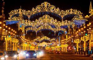 Названы самые популярные города России, которые жители выбирали для встречи Нового года