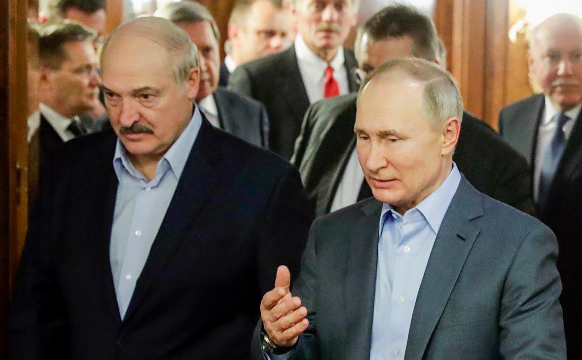 Лукашенко готовится ко встрече с Путиным
