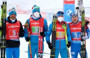 Российские биатлонисты на чемпионате мира завоевали первую медаль