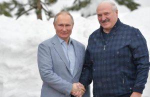 Лидеры России и Беларуси встретились в Сочи