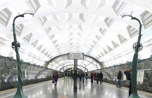 Полиция задержала в московском метро мужчину с гранатой