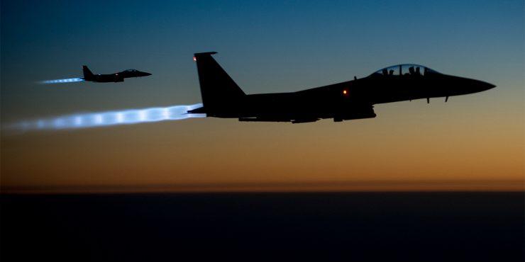 Пентагон уничтожил 9 объектов во время авиаудара в Сирии