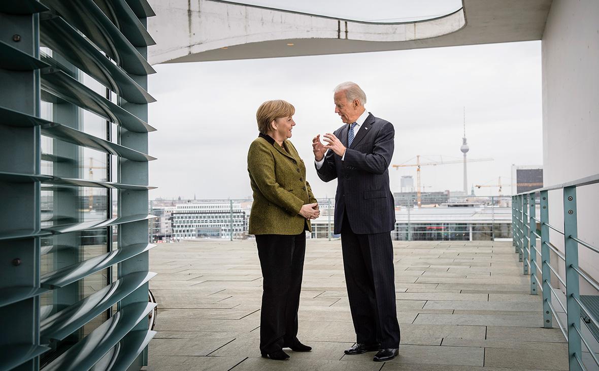 Байден и Меркель обсудили «Северный поток-2»