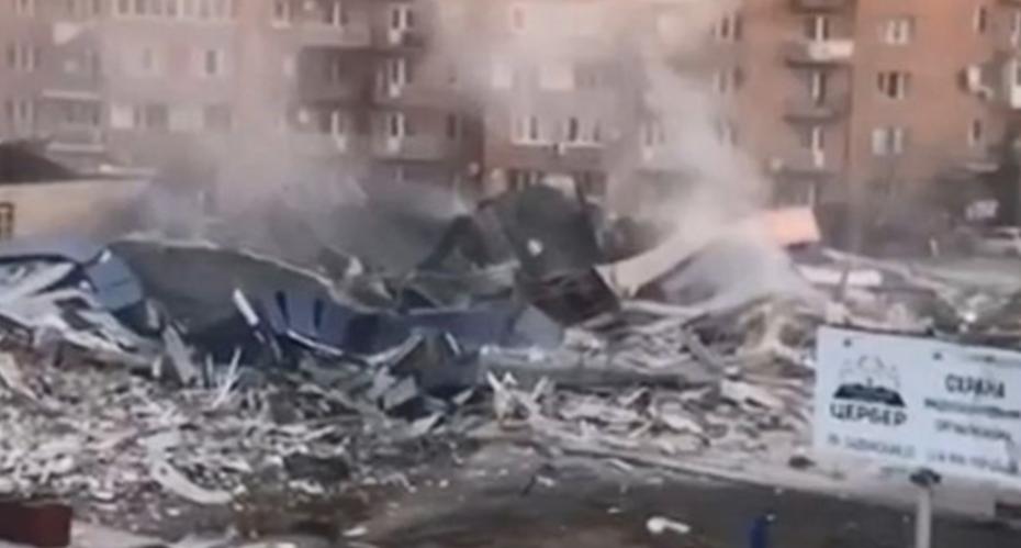 Один человек пострадал в результате взрыва в супермаркете во Владикавказе