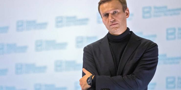 В Москве прошел флешмоб с зажженными фонариками в поддержку Навального