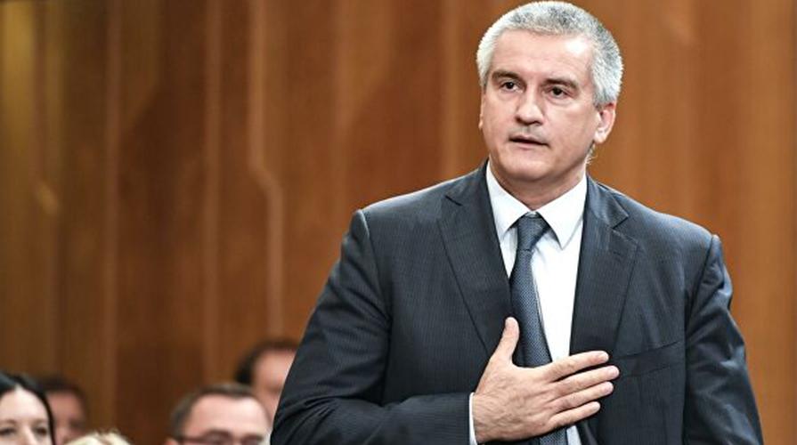 Аксенов высказался о намерении Киева построить дамбу для недопуска воды в Крым