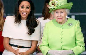Королева Елизавета II выступила с заявлением непосредственно перед интервью Меган Маркл и принца Гарри