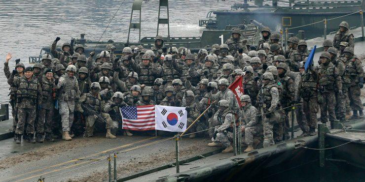 Южная Корея и США заключили новый договор о содержании американских военных баз