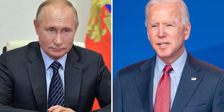 Путин желает встречи с Байденом