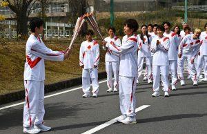 Олимпийский факел в Японии погас уже дважды