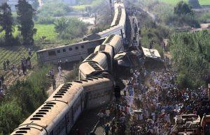 В Египте столкнулись поезда: количество пострадавших превысило сотню