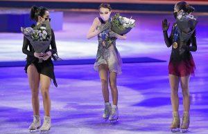 Весь пьедестал Чемпионата мира по фигурному катанию заняли россиянки
